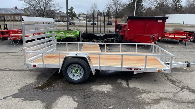 6' X 12' Single Axle Open Utility Trailer