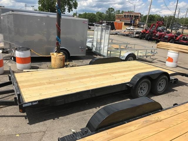 "83"" X 18' Open Car Hauler 7K"