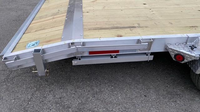 """83"""" X 20 Aluminum Car Hauler/Flatbed Trailer"""