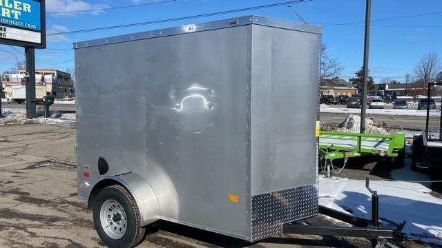 5' x 8' Single Axle Enclosed Trailer