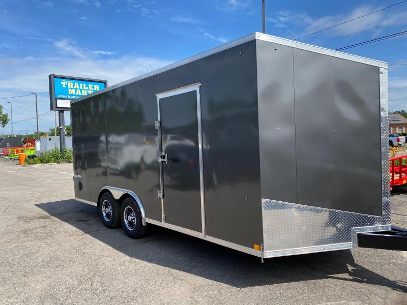8.5 X 18 Enclosed Trailer