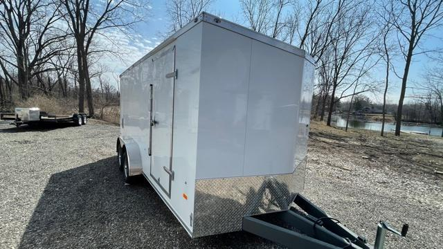 7' X 16' Tandem Axle Enclosed Trailer