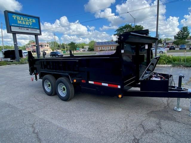 "72"" X 12' 10K Dump Trailer"