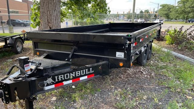 "96"" x 16' Flip-side Deckover Dump Trailer 14k"
