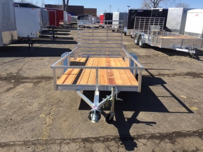 5' X 10' Single Axle Open Utility Trailer