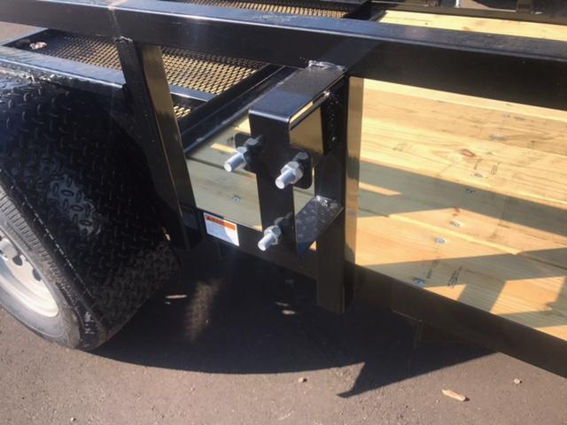 5' X 8' Single Axle Open Utility Trailer
