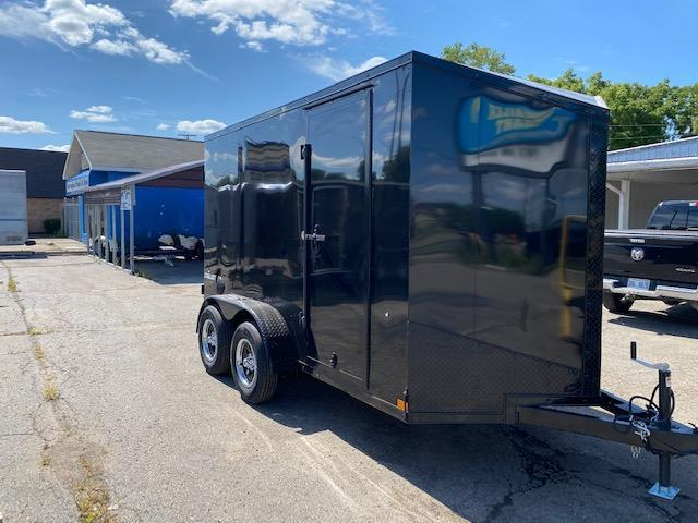 "6 X 12 Single Axle Enclosed Trailer ""Black Out"""