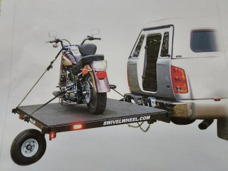 2016 Swivelwheel 4 X 6 Motorcycle Trailer/ATV Trailer