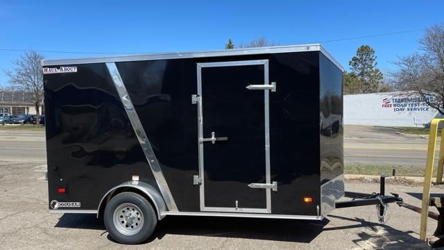 6' X 12' Single Axle Enclosed Trailer