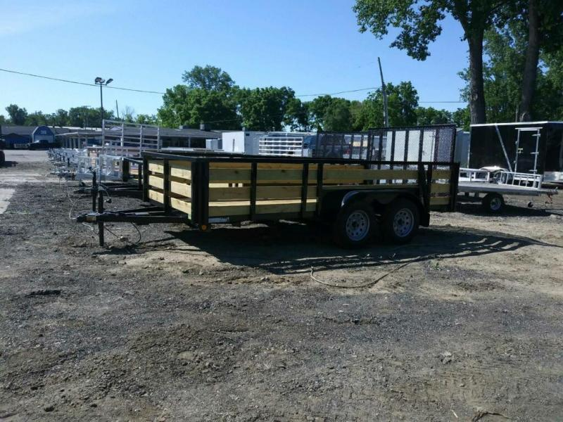 "82"" X 12' Tandem Axle Open Utility Trailer"