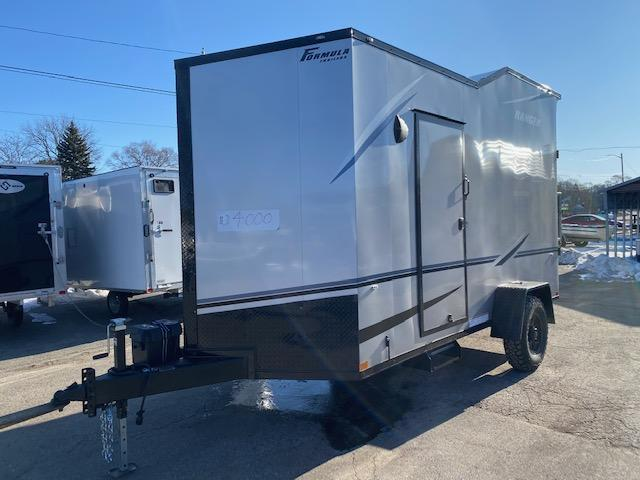 6.5' X 14' Enclosed ATV Trailer
