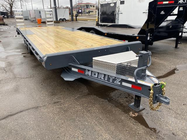 24' HD Flatbed Trailer 14K