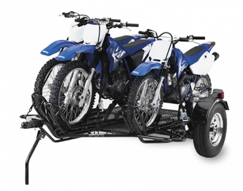 3 place Dirt Bike Motorcycle Trailer