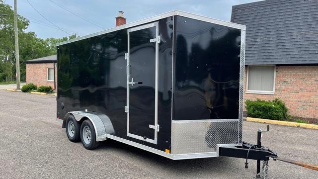 7' X 16' Tandem Axle Enclosed Cargo Trailer