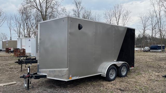 7' X 14' Tandem Axle Enclosed Cargo Trailer