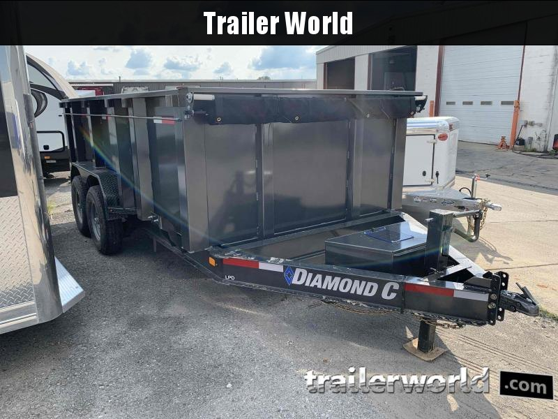 2021 Diamond C Trailers LPD207L14X82 Dump Trailer