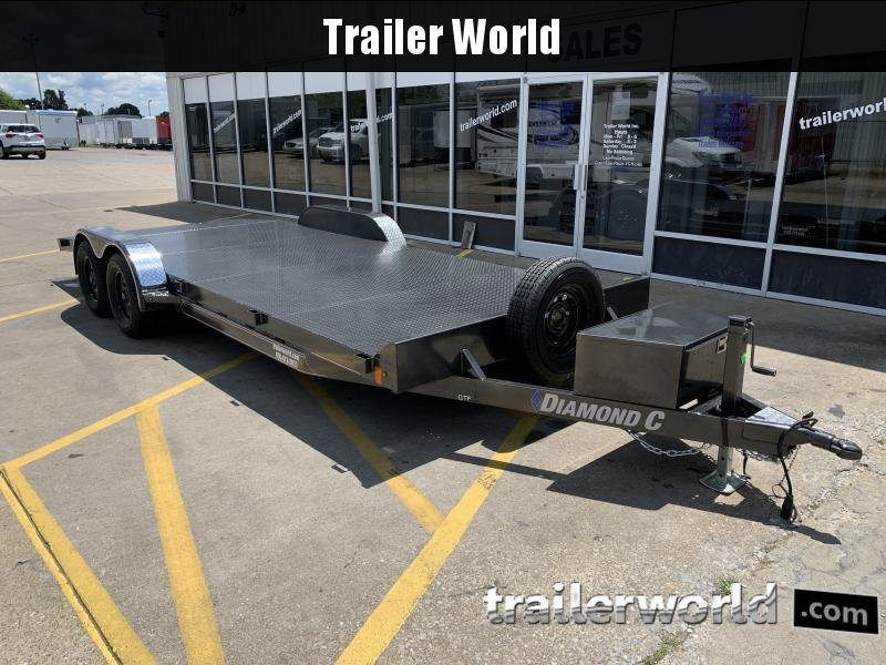 2020 Diamond C Trailers GSF235 Open Car Hauler Trailer