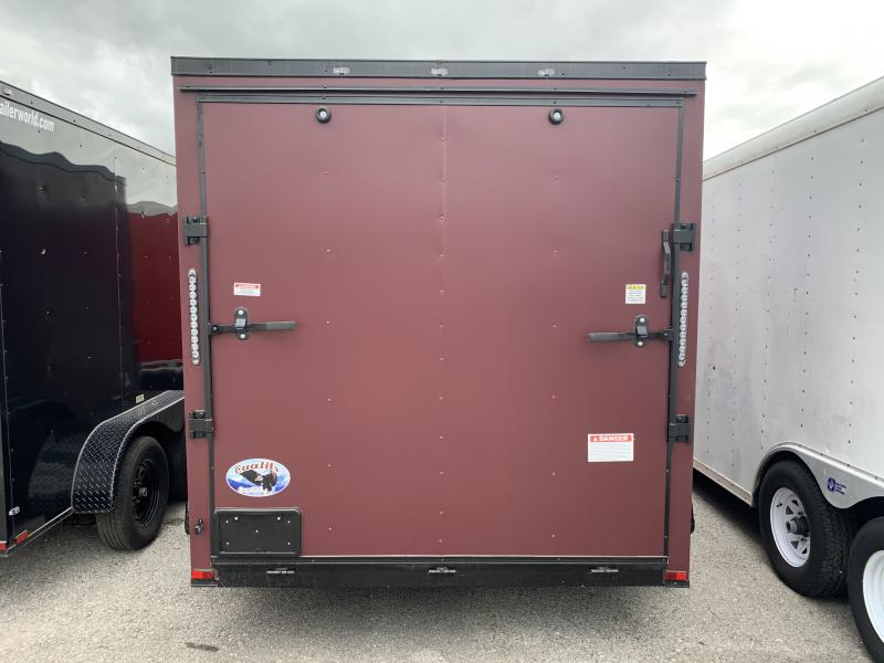 2021 25868 7 x 12'TA Cargo / Enclosed Trailer