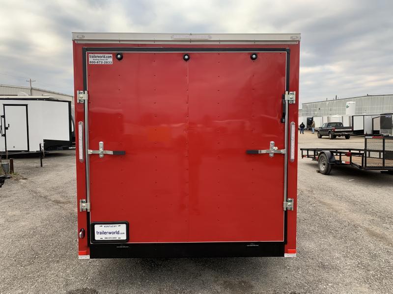 2021 Lark 7' x 16' Enclosed V Nose Cargo