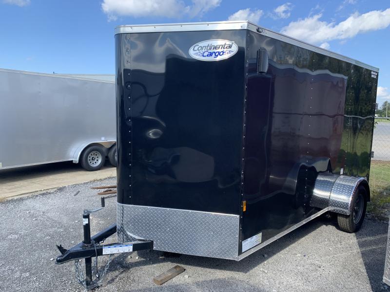 2022 Continental Cargo 6.5' x 12' x 6.3' Enclosed Cargo Trailer