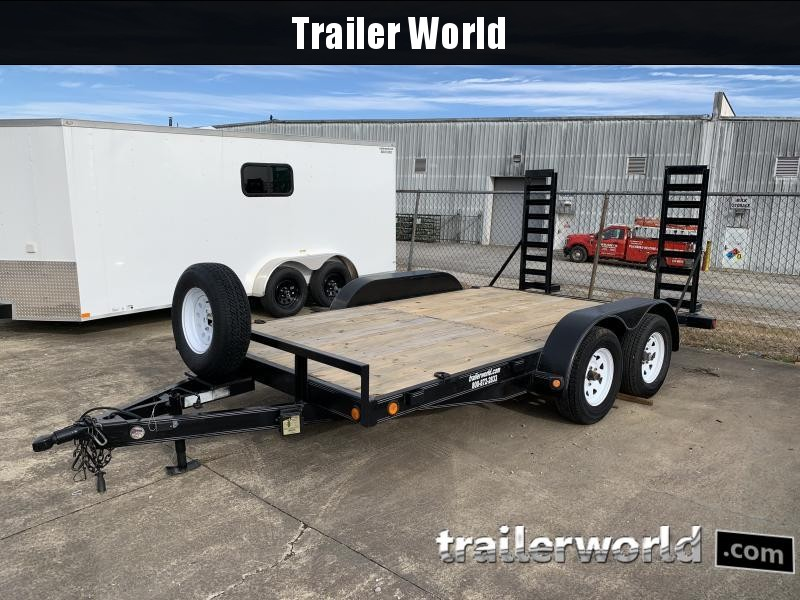 2010 Load Trail 4ZE 14' Equipment Trailer