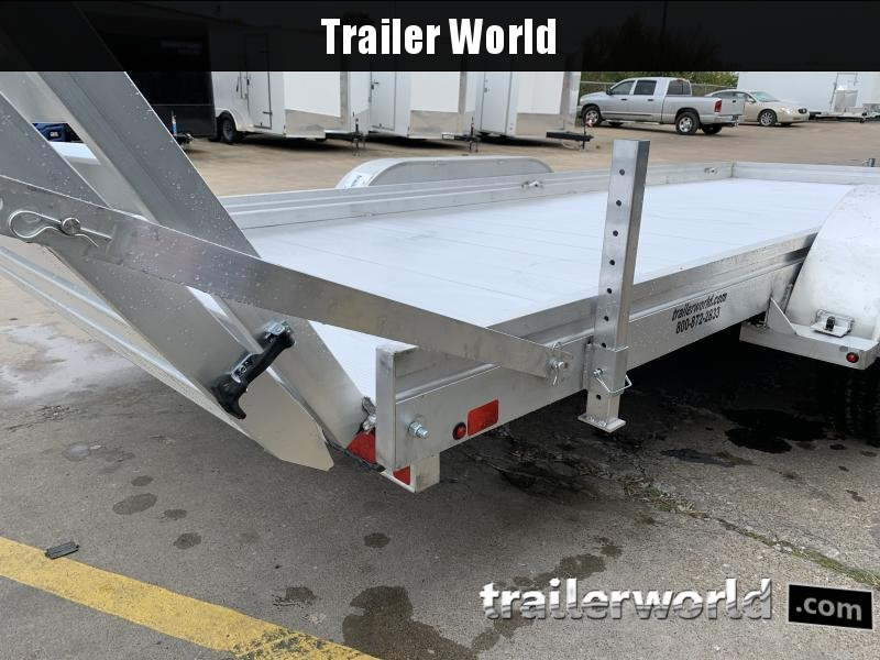 2021 Aluma 7818BT-ESA 18'  Aluminum Open Utility Trailer