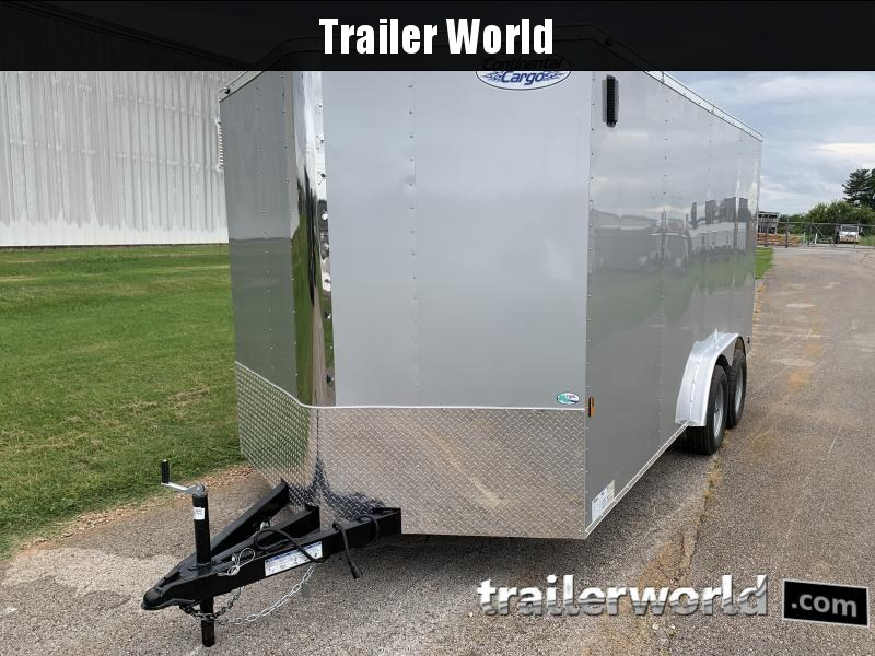 2021 Continental Cargo 7.5x16 Enclosed Cargo Trailer