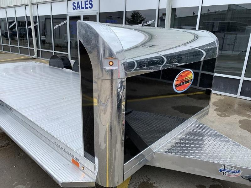 2020 Sundowner 20' Aluminum Open Car Hauler Trailer