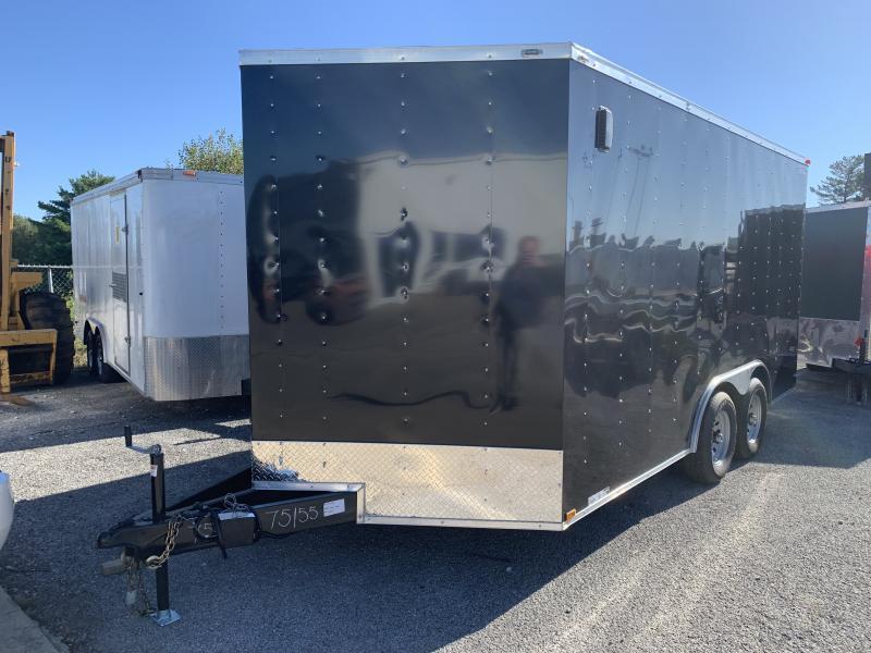 2022 75155 8.5 X 16'TA Enclosed Cargo Trailer