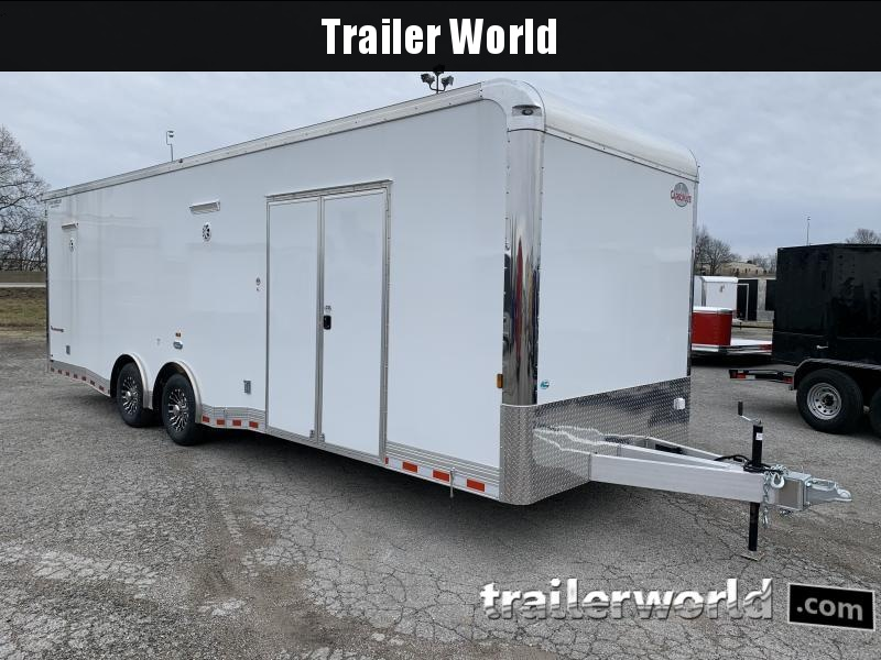 2022 Cargo Mate Eliminator Aluminum 28' Race Trailer