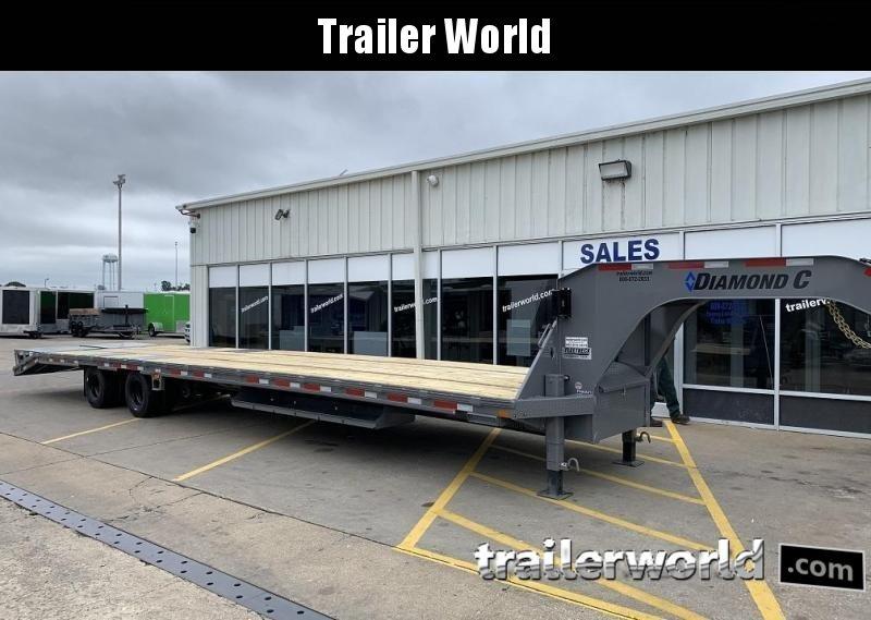 2020 Diamond C FMAX212 40' Hot Shot Trailer AIR RIDE