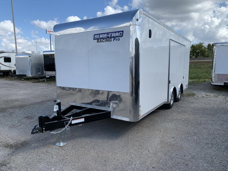 2021 Sure-Trac 8.5 x 20 Racing Pro Enclosed Car / Racing Trailer