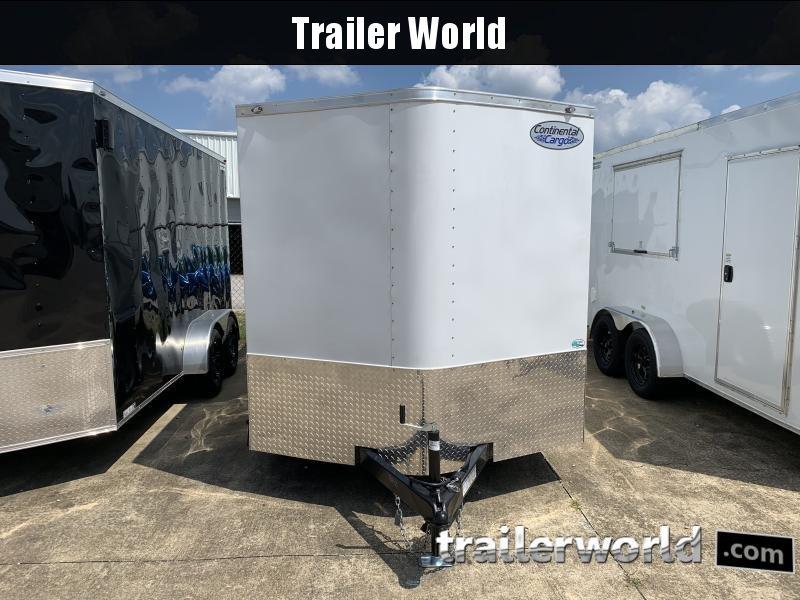 2022 Continental Cargo 7' x 16' x 6.3' Double Doors Enclosed Cargo Trailer