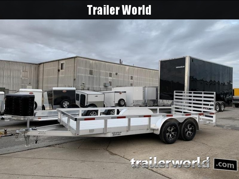 2019 Trailer World Aluminum 18 Utility Trailer