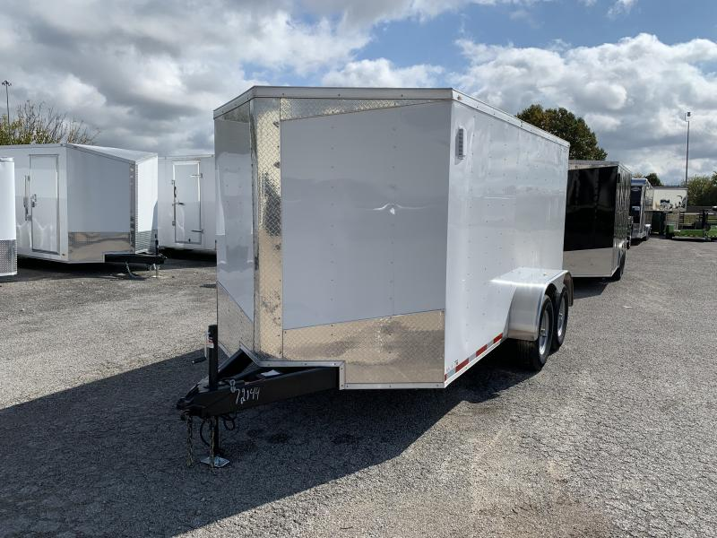 2021 Lark 7' x 14' Enclosed V Nose Cargo Trailer Clearance
