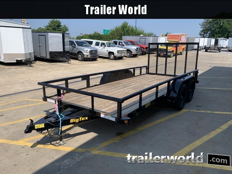 2022 Big Tex Trailers 60PI 16' Utility Trailer