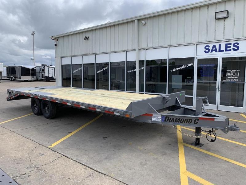 2020 Diamond C DEC207 24' Deck Over Equipment Trailer