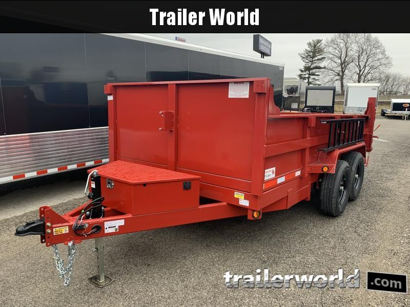 2022 Quality Steel 14 Dump Trailer 14K GVWR
