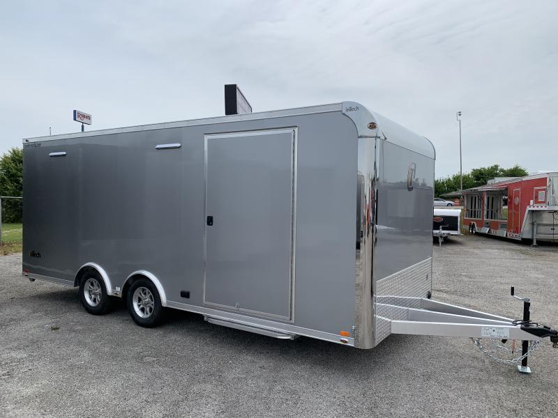 2021 inTech  20' Lite Aluminum Enclosed Car / Race Trailer