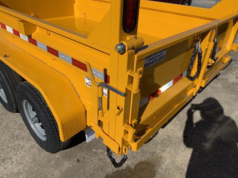 2021 Sure-Trac 6 x 10 SD Low Profile Single Ram Dump Trailer  10K
