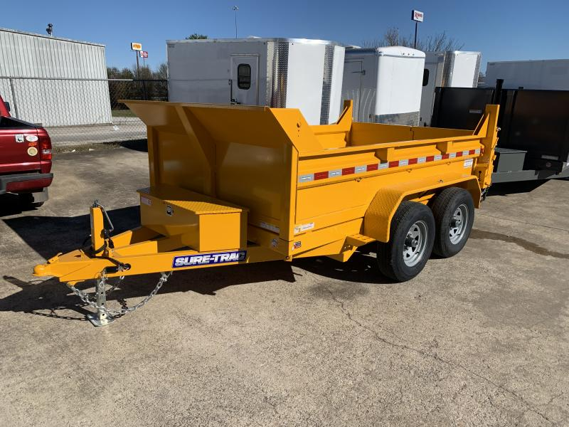 2021 Sure-Trac 6 x 10 SD Low Profile Single Ram Dump Trailer  10K