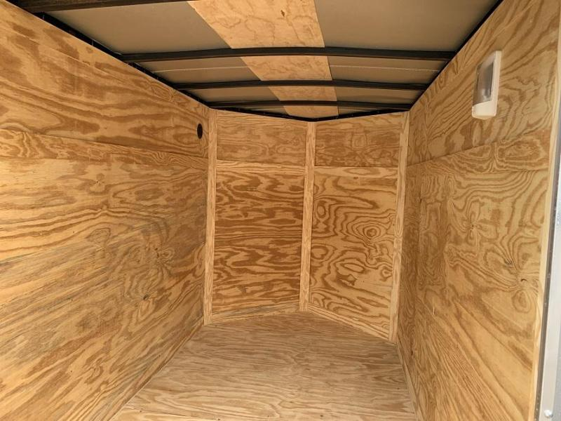 2020 AT 5' x 8' x 5.5' V nose Enclosed Cargo Trailer