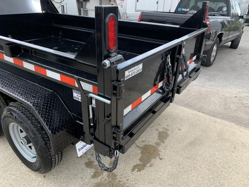 2021 Sure-Trac 72 IN x 10 LProfile 10K Single Ram Dump