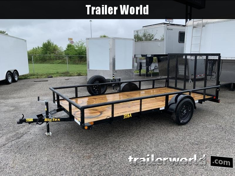 2021 Big Tex Trailers 35SA 14' Utility Trailer