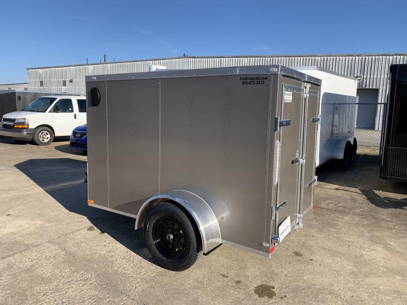 2021 Lark 5X8SA Enclosed Cargo Trailer