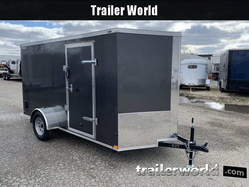 2021 Lark 6X12'SA Enclosed Cargo Trailer