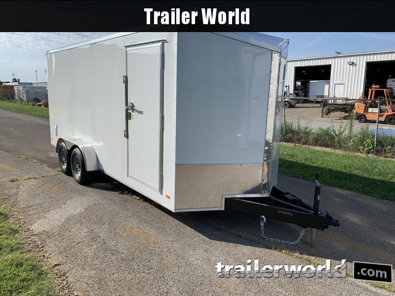 2021 CW 7' x 18' x 7' Vnose Enclosed Cargo Trailer 10k GVWR