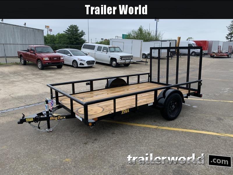 2021 Big Tex Trailers 35SA 12' Utility Trailer