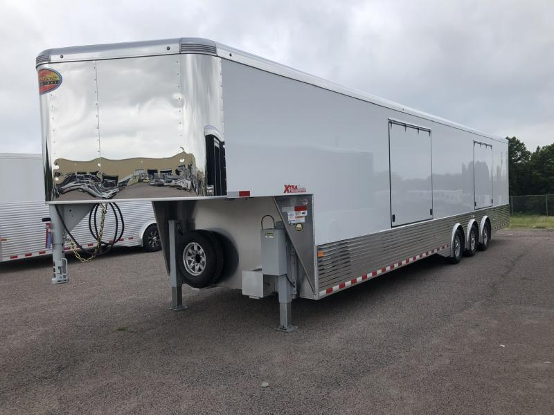 2021 Sundowner 44' Enclosed 2 Car Car Trailer