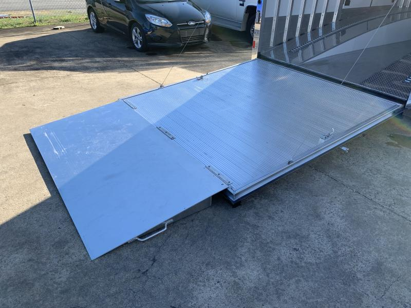 2021 Sundowner 44' Enclosed 2 Car Ramp Over Car Trailer
